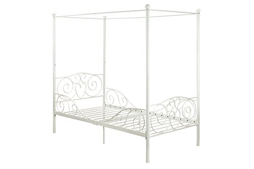 DHP Canopy Metal Bed White product image
