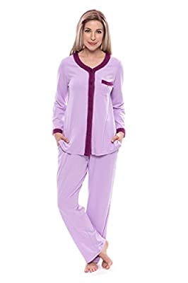 Women's Long Sleeve Pajama Set (Eco Nirvana) Eco-Friendly Clothing by Texere