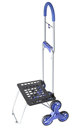 Stair Climber Bigger Mighty Max Dolly Cart, Blue Handtruc...