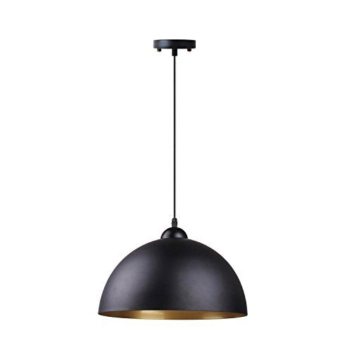 Black And Gold Pendant Light in US - 9