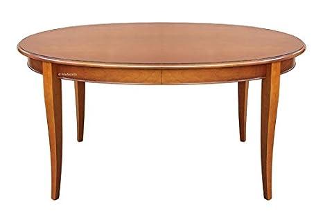 Artigiani Veneti Riuniti Tavolo ovale allungabile 160 cm: Amazon.it ...