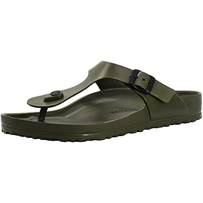Birkenstock Gizeh Essentials Khaki EVA Sandals