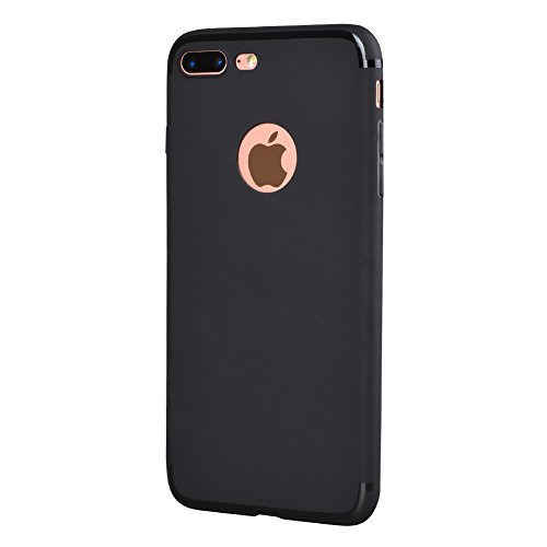 Dual Sim adapter kit two sim cards case/cover for iphone 7 -black color by BRIDGOR (Image #1)