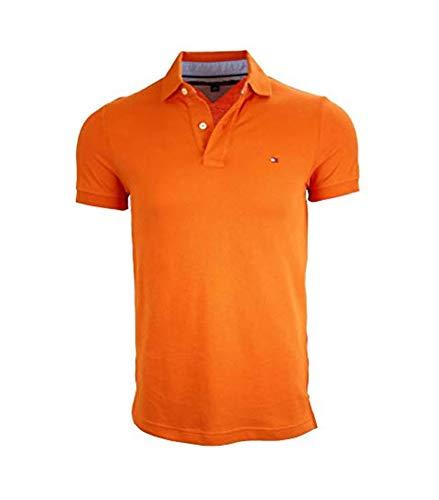 2c6c1af7f Mens Orange Tommy Hilfiger Polo Shirt Price Compare