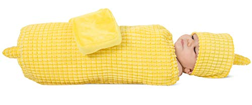 Halloween Costumes Baby Candy Corn (Princess Paradise Corn on the Cob Baby Costume, As Shown, 0-3)