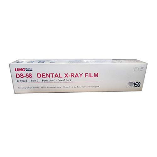 X-ray Dental - Dental Intraoral D-speed X-ray Film Ds-58 Size 2
