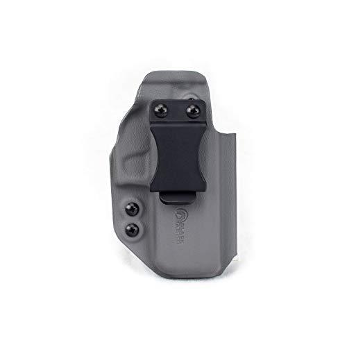 Black Arch Rev-Con Reversible Convertible Holster for Sig Sauer P320 Compact - Carbide Grey