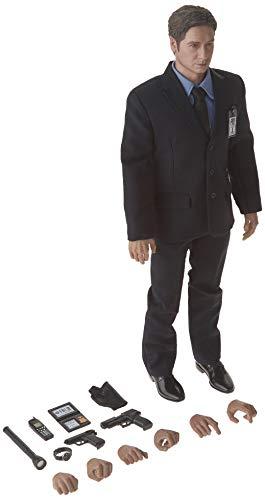 ThreeZero The X-Files: Agent Fox Mulder 1: 6 Scale Action Figure (X Toys Files)