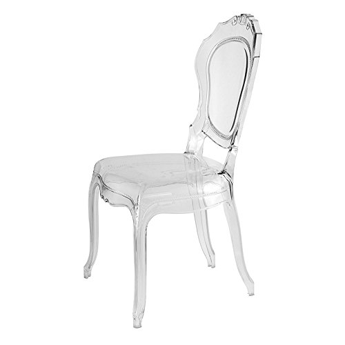UrbanMod UM3994 Belle Epoque Stylish Made in Italy Dining Chair (Bella Dining Chair)