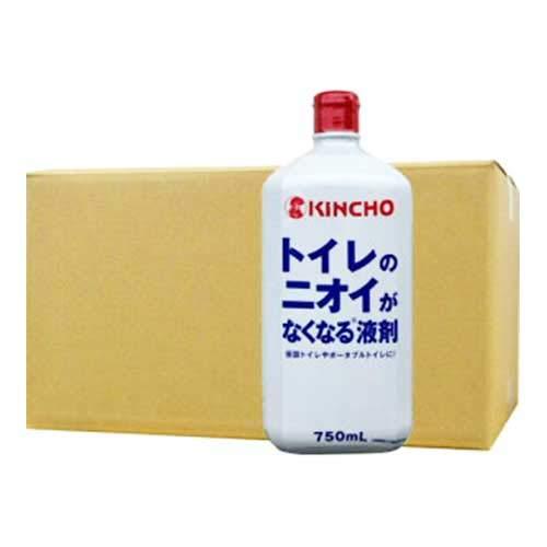 トイレのニオイがなくなる液剤750ml×12本 B07KRVKF99