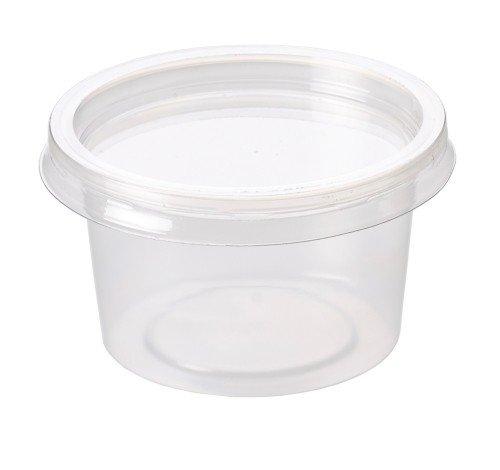 250 x Food Grade Storage Deli Tubs Pots plus 250 Lids - 50ml, 2oz - (2ST) GeneralStoresLtd GSL70PFCR2