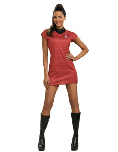 Star Trek Movie Deluxe Red Dress, Adult Medium Costume