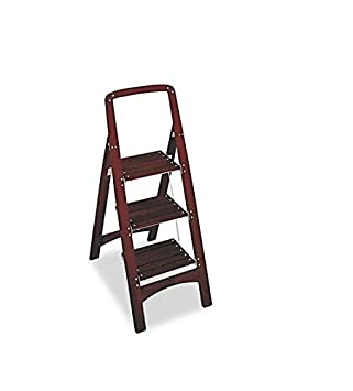 Cosco Three Step Rockford Wood Step Stool Mahogany  sc 1 st  Amazon.com & Amazon.com: Cosco Three Step Rockford Wood Step Stool Mahogany ... islam-shia.org