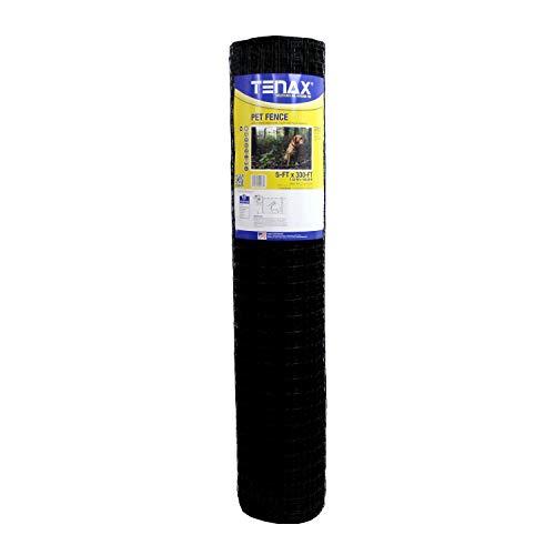 Tenax 2A140076 Select Pet Fence, 5' x 330', Black