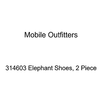The Mobile Outfitters 314603 Elephant Shoes, 2 Piece