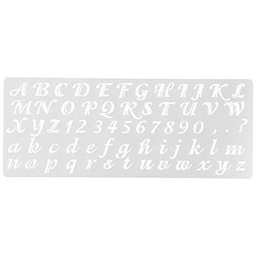 Cursive letter stencils amazon spiritdancerdesigns Gallery