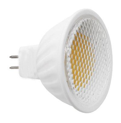 LED COB MR16 GU5.3 Bombilla Lámpara Foco 4 W cerámica blanco cálido: Amazon.es: Iluminación