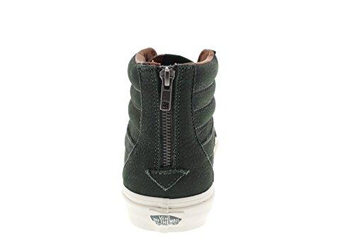 VANS - SK8-HI Reissue Zip - Premium Leather Duffel Bag Grün