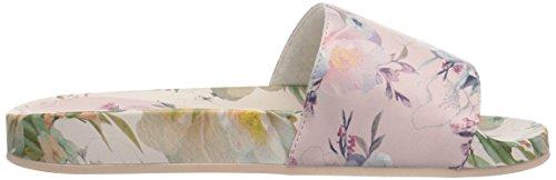 Nanette Lepore Women's Miriam_Print Slide Sandal Light Pink Floral 166IiOZaR