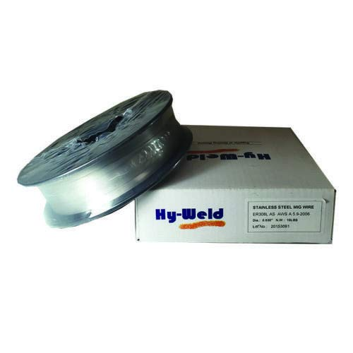 ER308L .030'' .035'' Mig Stainless Steel Welding Wire 10 lb & 25lb Spool (.030'' 10 lb) by Hy-weld