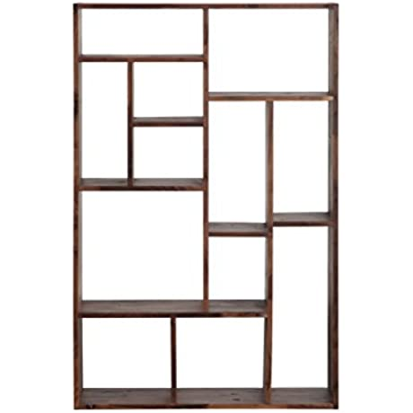 Moe S Home Collection Wastewood Bookcase
