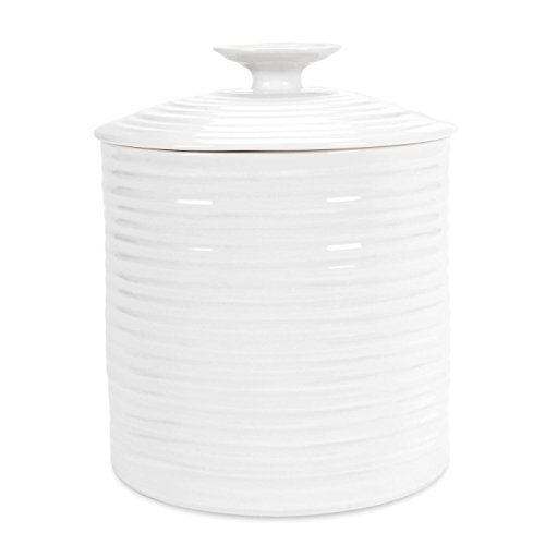 Portmeirion Sophie Conran White Large Canister -