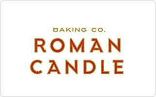 Roman Candle Baking Co. Present Card ($25)