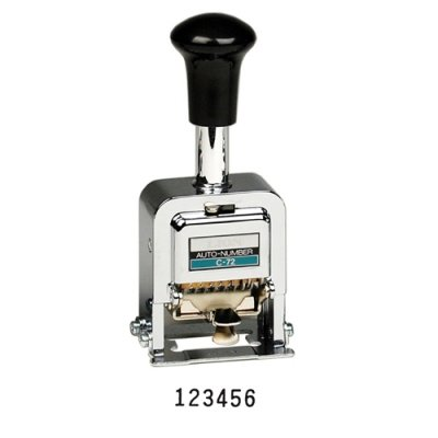 LIOC72 - Lion Office Products, Inc PRO-LINE Heavy-Duty Automatic Numbering Machine by Lion Office Products, Inc