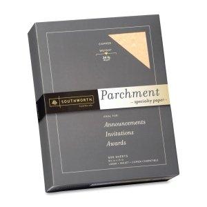 - Southworth Parchment Specialty Paper, 24 Lb, 8 1/2