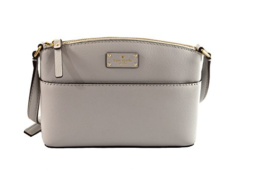 Kate Spade Millie Grove Street Leather Crossbody Bag Handbag Purse (StoneIce) by Kate Spade New York