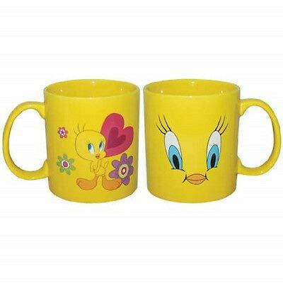 Tweety Face (Westland Giftware Stoneware Mug, 14 oz, Tweety Face, Multicolor)
