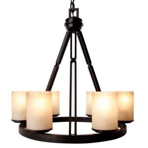 Alta Loma 6-Light Dark Ridge Bronze Chandelier Dark Ridge Bronze