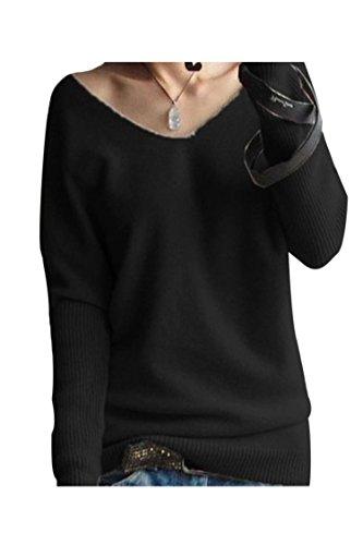 Kakalot Womens Neck Sleeve Pullover