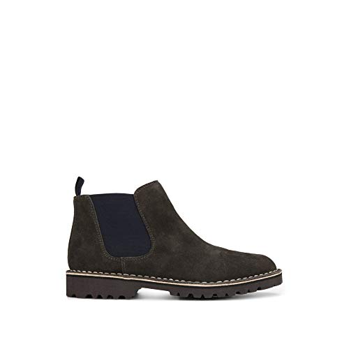 (Kenneth Cole REACTION Men's ABIE Chelsea Boot, Grey, 10 M US )