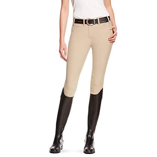 Ariat Breeches (ARIAT Women's Heritage Elite Knee Patch Breech Tan Size 24 Regular)