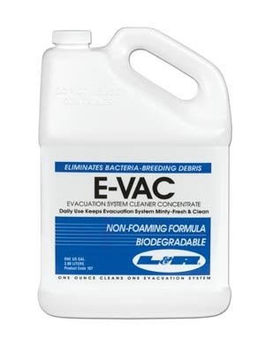 L&R E-Vac Evacuation System Cleaner Concentrate, Gallon 107