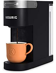Keurig K-Slim Coffee Maker, Single Serve K-Cup Pod Coffee Brewer, 8 to 12oz. Brew Sizes, Black
