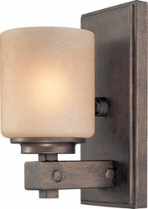 Northfield One Light (Dolan Designs 2706-90 Sherwood 1 Arm Wall Sconce, Sienna)