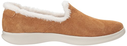 wide range of cheap price Skechers Women's Go Step Lite-Fuzzies Loafer Flat Chestnut buy cheap classic very cheap price eastbay for sale FbcZJR