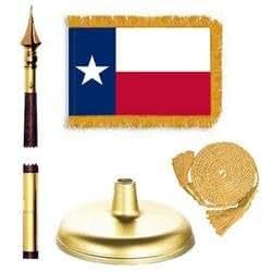 Premium Kit de bandera de Texas (tamaño)