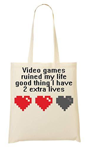 La Life Extra Mano Video Bolsa De My Ruined Games Lives Compra Bolso 4Anq1vw