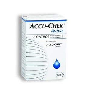 Accu-Chek Aviva 2 Level Glucose Control Solution High/Low