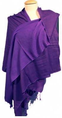 70x200 cm Chakra Schal violett