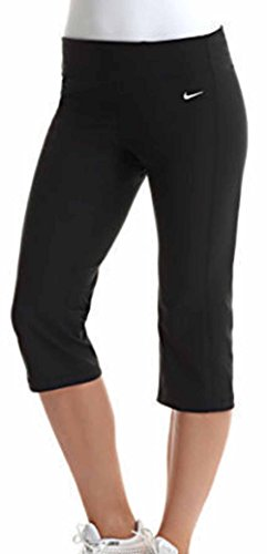 Nike Women's DriFIT Regular Fit Poly Running Capris Black, X-Small, 472350 010