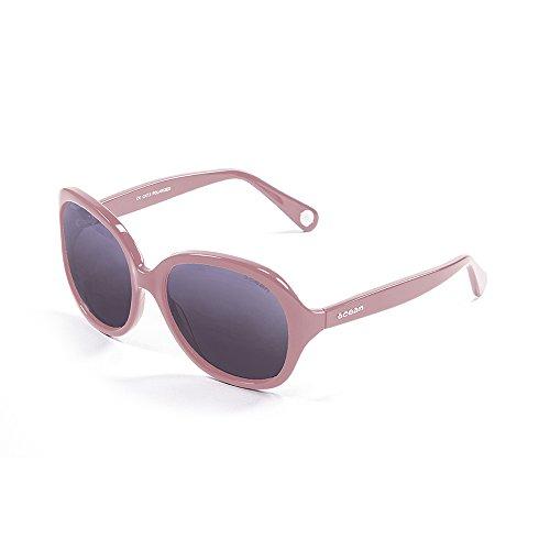 Ocean Sunglasses Washington Lunettes de Soleil Mixte Adulte, Marron Foncé