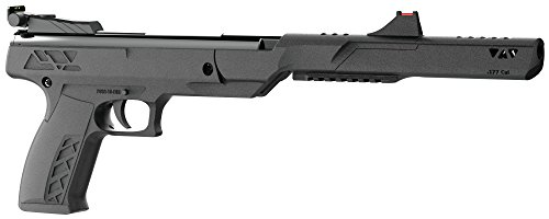 Crosman PBN17 Trail Mark II Nitro Piston Break Barrel Hunting Air Pistol, Black, 0.177 Caliber ()