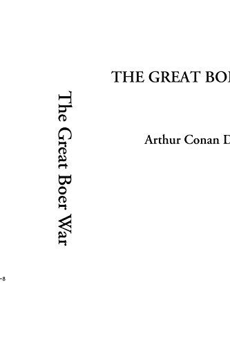 The Great Boer War Arthur Conan Doyle
