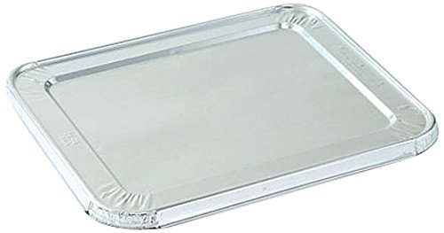 Nicole Home Collection 00780 Aluminum Lid, 1/2 Size (Pack of 100)