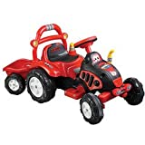 Lil' RiderT The King Tractor & Trailer - Battery Powered