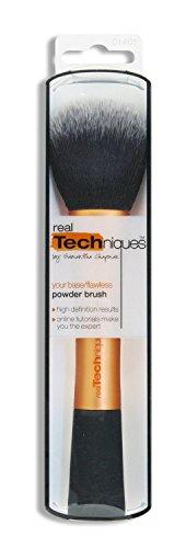 Women's Handle Makeup Brush Set Kabuki Powder Foundation Blusher Cosmetics Brushes Kit Luxury Gift RT Powder Brush by Real Techniques